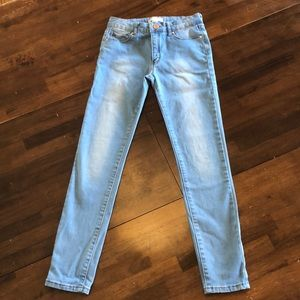 Forever 21 light wash jeans